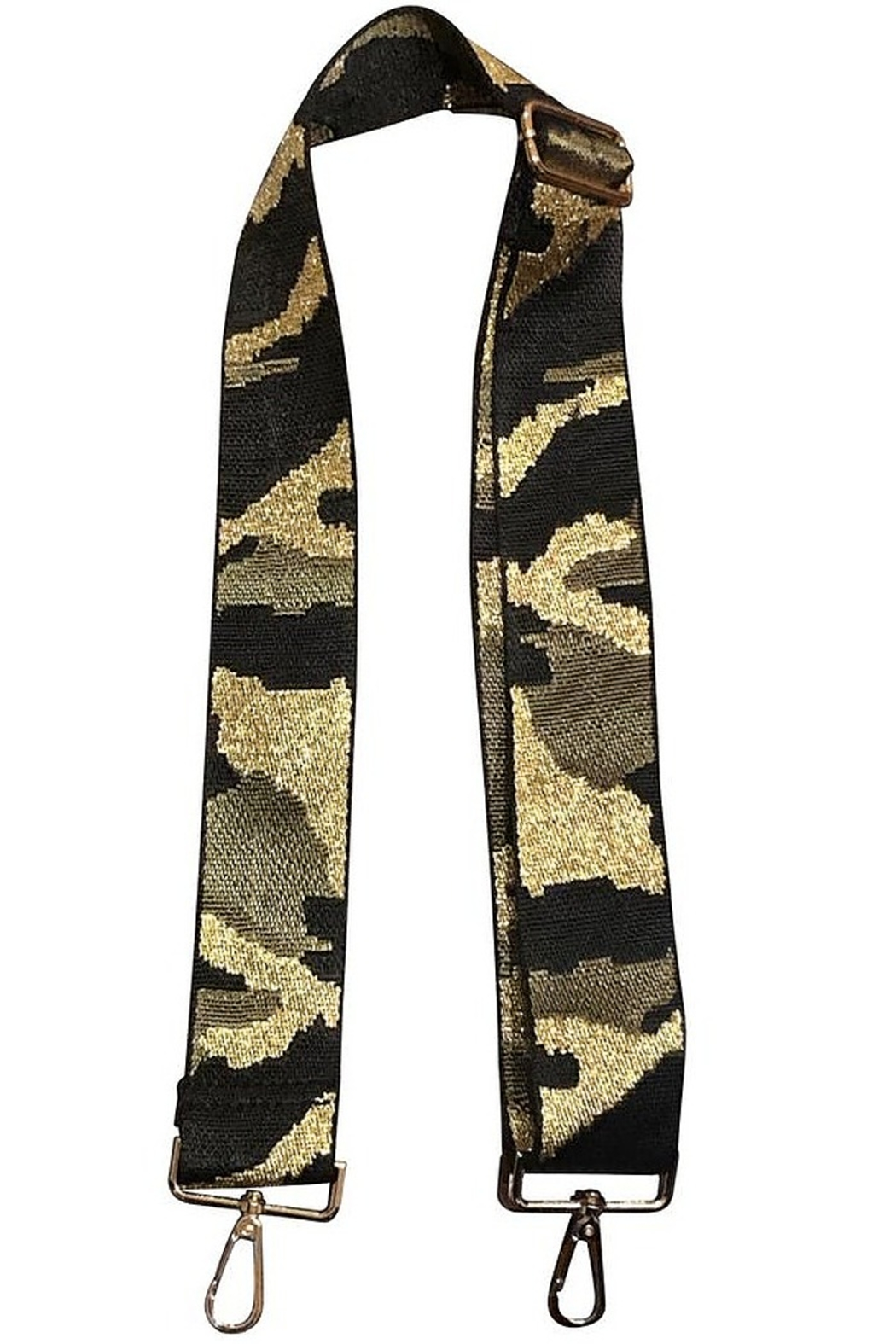 Ahdorned Camouflage Bag Strap Green - Main Image
