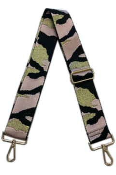 Ahdorned Camouflage Bag Strap - Alternate List Image