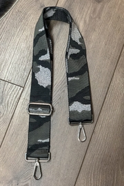 Ahdorned Camouflage Bag Strap Silver - Product Mini Image