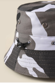 Coco International Camouflage Bucket Hat - Front full body