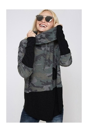 Fantastic Fawn Camouflage Cowl/neck Top - Product Mini Image