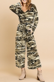 Umgee USA Camouflage Cozy Jumpsuit - Product Mini Image