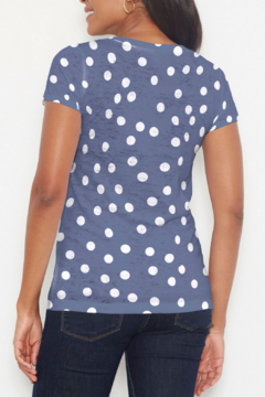 Whimsy Rose Camouflage Dots - S/S Scoop T - Alternate List Image