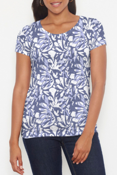 Whimsy Rose Camouflage Dots - S/S Scoop T - Product List Image