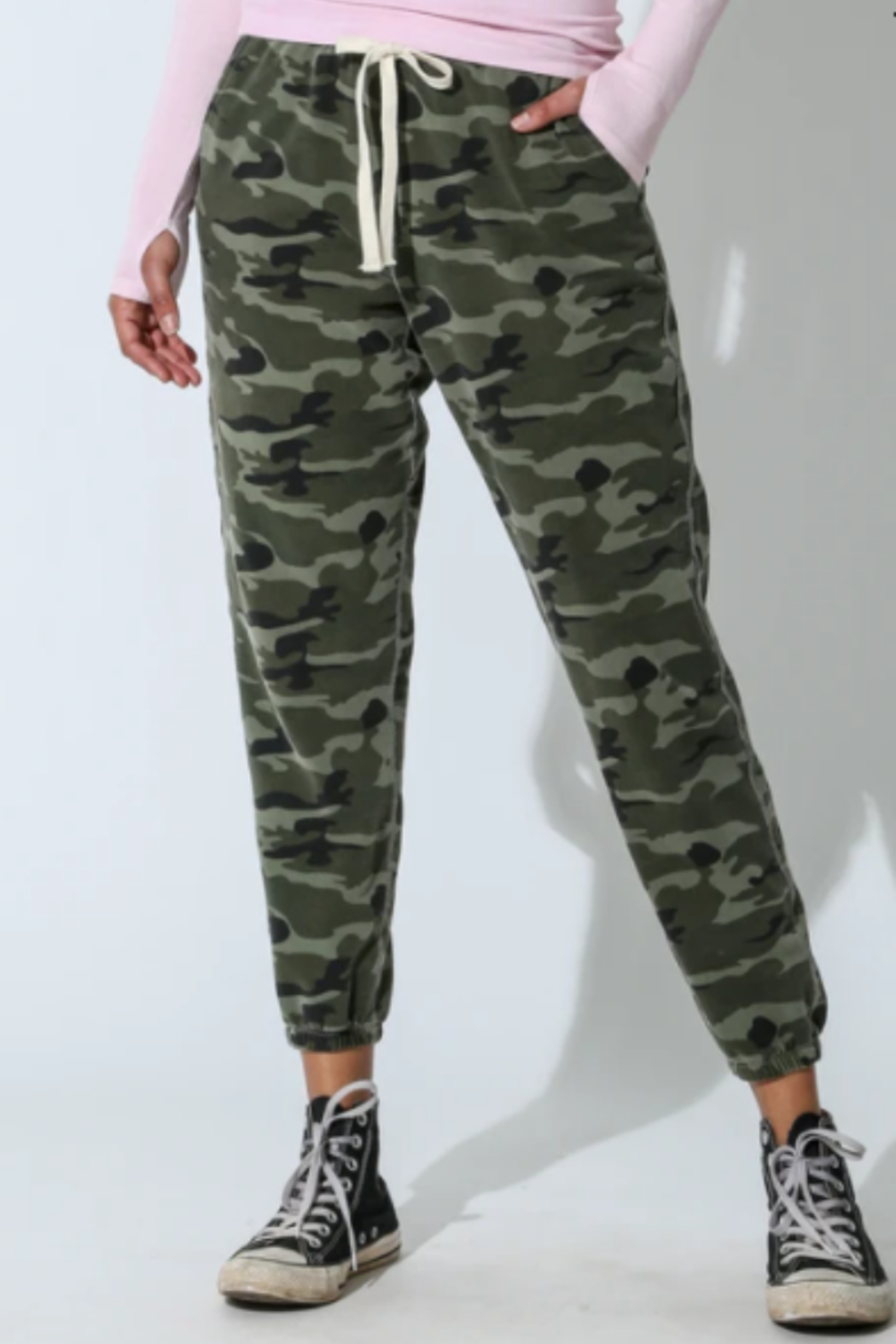 Electric & Rose camouflage jogger - Main Image
