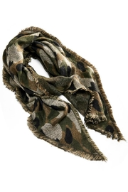 Charlie Paige Camouflage Oblong Scarf - Product Mini Image