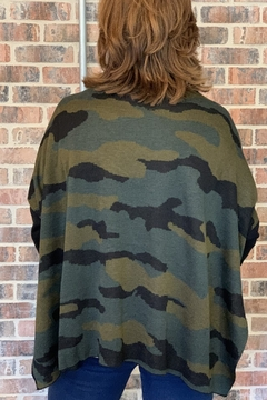Patrizia Luca Camouflage Over Size Sweater - Alternate List Image