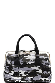 Nadya's Closet Camouflage Slide-Zipper Satchel - Product Mini Image