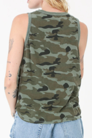 Electric & Rose Camouflage Tank - Side cropped