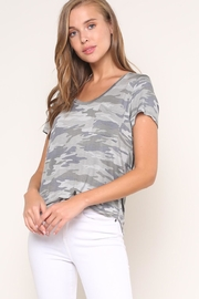 Mustard Seed Camouflage Tee - Front cropped