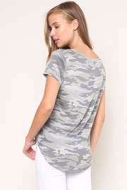 Mustard Seed Camouflage Tee - Back cropped