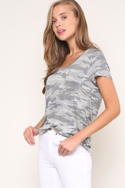 Mustard Seed Camouflage Tee - Front full body