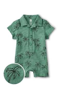 Tea Collection Camp Collar Romper - Alternate List Image