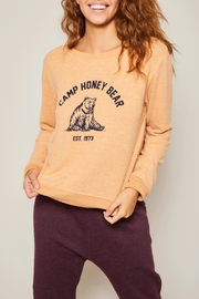 All Things Fabulous Camp Honey Sweater - Product Mini Image