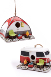 Giftcraft Inc.  Camper Birdhouse - Product Mini Image
