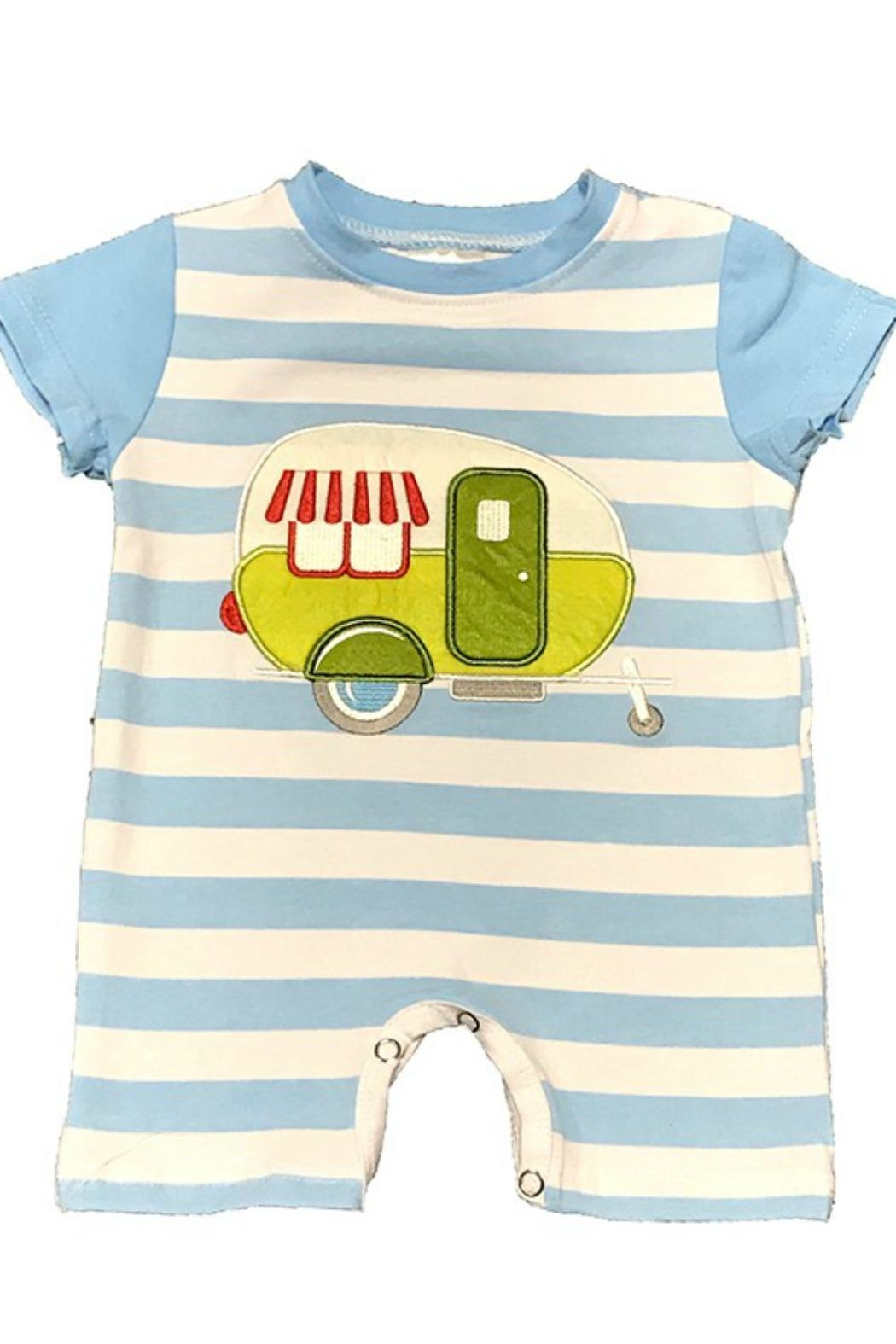 Lady Charm Camper Trailer Romper - Main Image