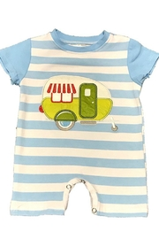 Lady Charm Camper Trailer Romper - Front cropped