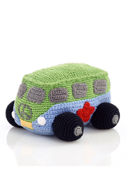 Pebble Campervan Rattle - Front cropped