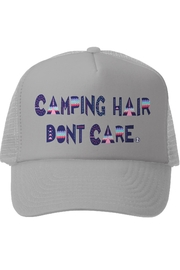 Grom Squad Camping Hair Don't Care Trucker Hat - Product Mini Image