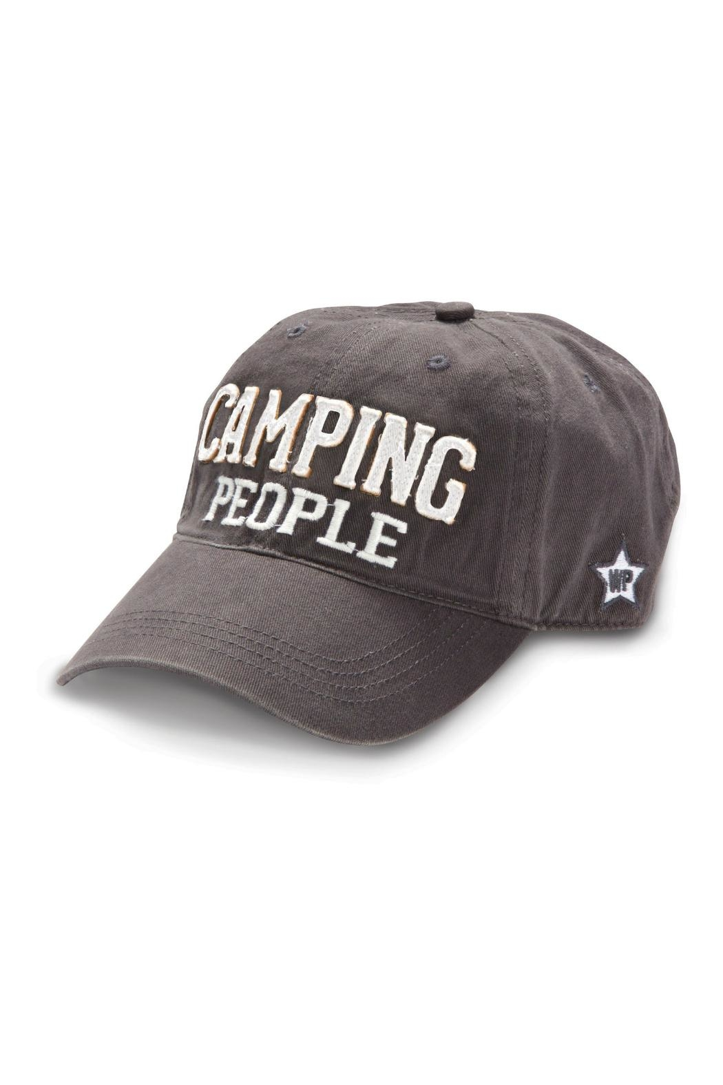 Pavilion Camping People Hat - Front Cropped Image
