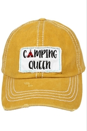 david and young Camping Queen Cap - Front full body