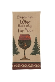 Park Designs Camping & Wine Dishtowel - Product Mini Image