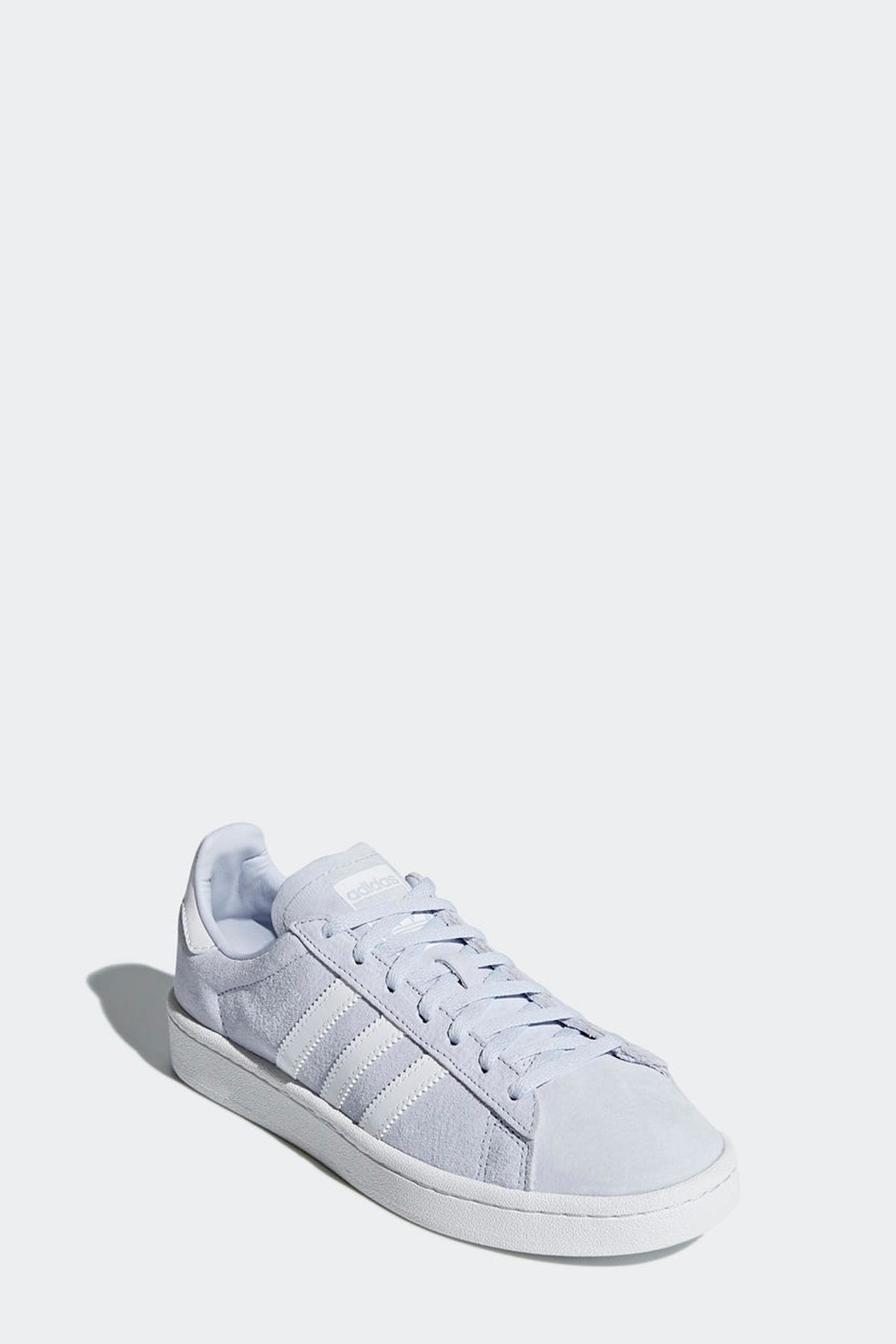 adidas Campus Shoes Blue - Side Cropped Image