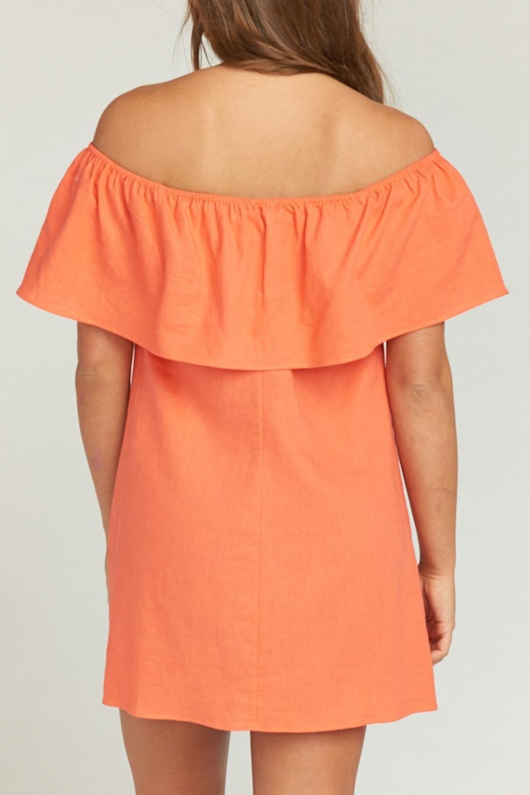 Show Me Your Mumu Can Can Dress - Back Cropped Image
