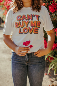 Recycled Karma Can't Buy Me Love Graphic Tee - Alternate List Image