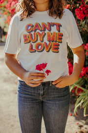 Recycled Karma Can't Buy Me Love Graphic Tee - Product Mini Image