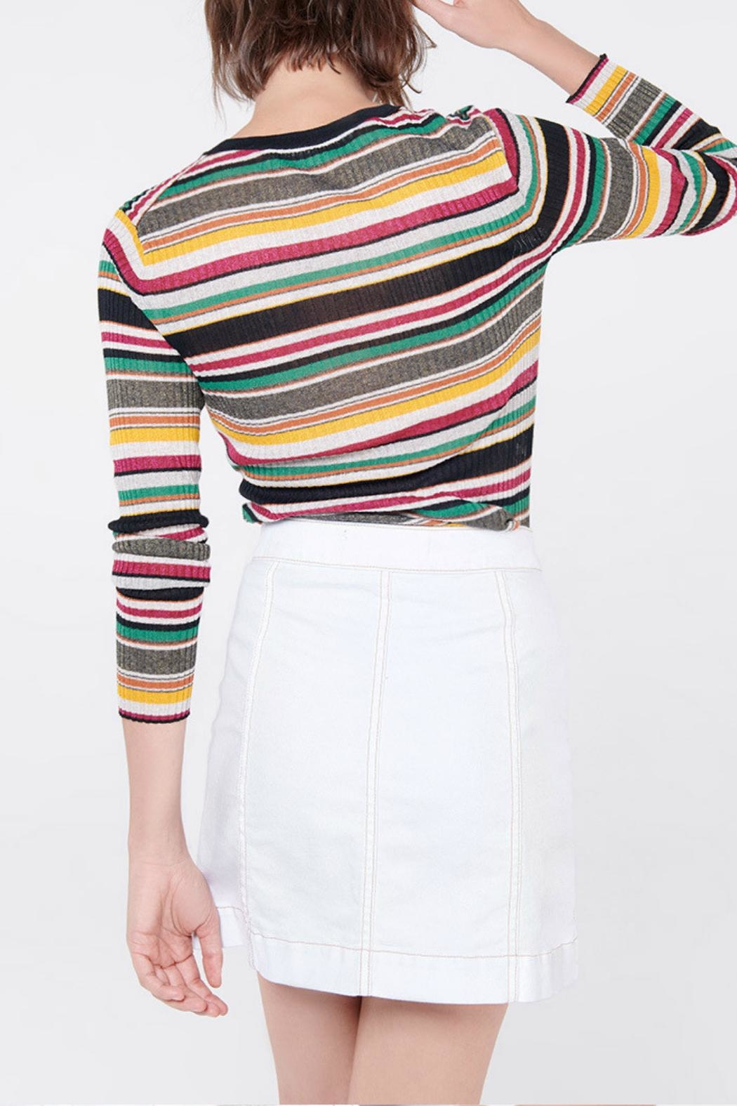 Veronica Beard Canal Long Sleeve - Front Full Image
