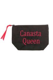 Dani Risi Canasta Queen Pouch - Front cropped