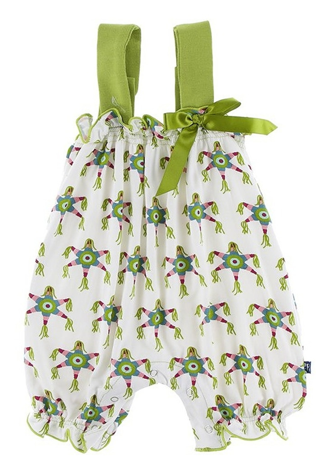 Kickee Pants Cancun Romper with Bow - Main Image
