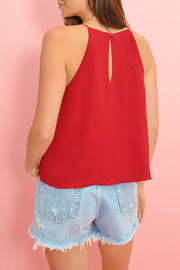 Buddy Love Candice Tie Front Top - Back cropped