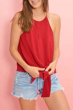 Buddy Love Candice Tie Front Top - Product List Image