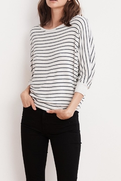 Velvet Candida Striped Top - Product List Image