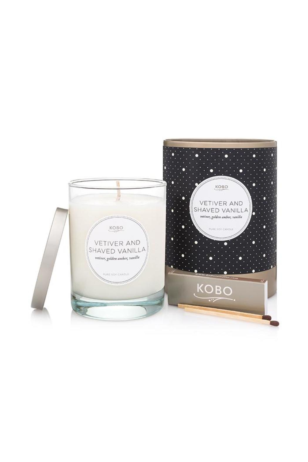 Kobo Candle-Soy Vetiver Shaved-Vanilla - Main Image