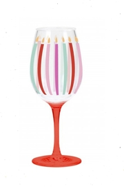 CR Gibson Candles Acrylic Wine-Glass - Product Mini Image