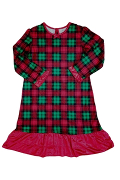 Shoptiques Product: Holiday Plaid Nightgown