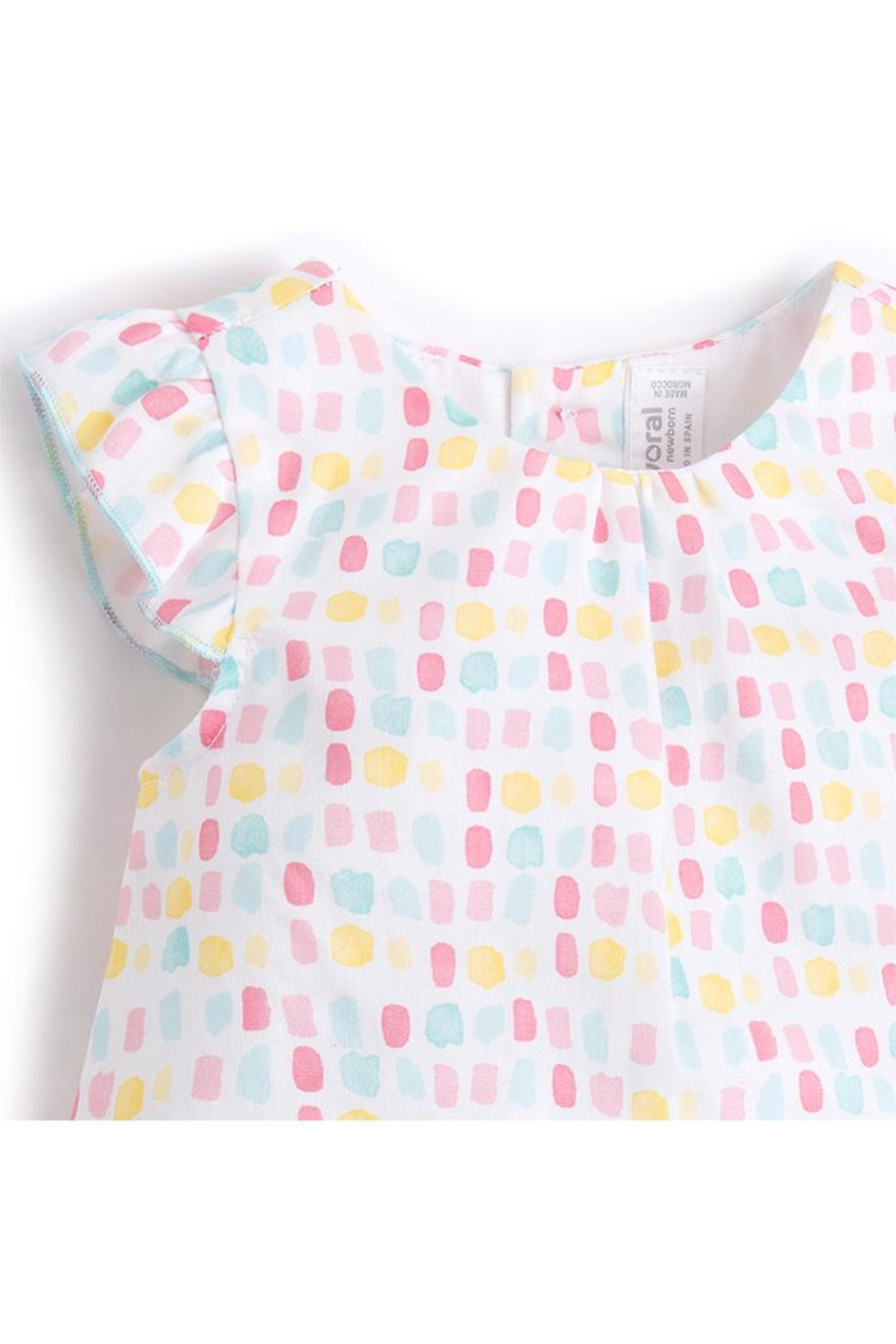 Mayoral Candy Blouse/bloomer Set - Front Full Image