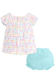 Mayoral Candy Blouse/bloomer Set - Side cropped