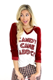 Judith March Candy Cane Addict Tee - Product Mini Image