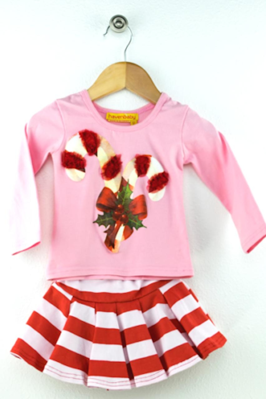 haven girl Candy Cane Set - Side Cropped Image