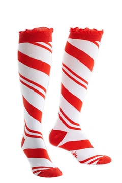 Sock it to me Candy Cane Socks - Alternate List Image