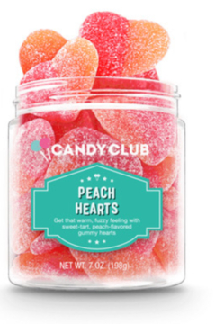 Candy Club - Peach Hearts - Product List Image