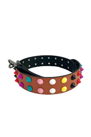 be clear handbags Candy Dots Strap - Front cropped