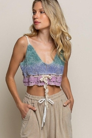 POL  Candy Dream Crochet Bralette - Product Mini Image