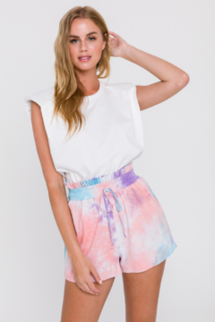 FREE THE ROSES Candy Floss Shorts - Product List Image
