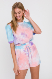 FREE THE ROSES Candy Floss Tee - Product Mini Image