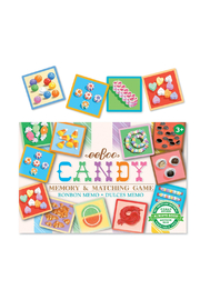 Eeboo Candy Memory & Matching Game - Front full body